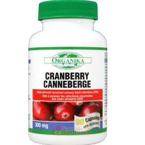 Extract Concentrat de Cranberry - Merisor 300 mg