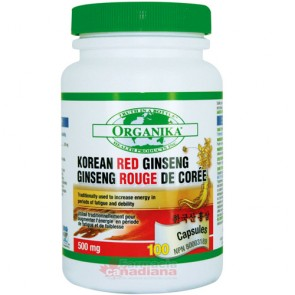 Ginseng Rosu Korean 500 mg