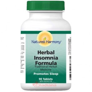 Herbal Insomnia Natures Harmony 90 Tablete