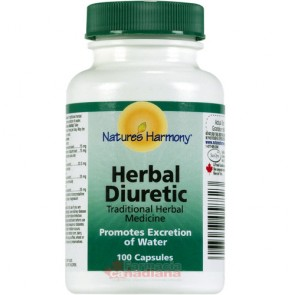 Herbal Diuretic Natures Harmony 100 capsule