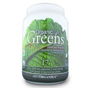 Organic Greens Drink Mix Powder 300 grame