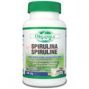 Spirulina Organika 500 mg 100 tablete