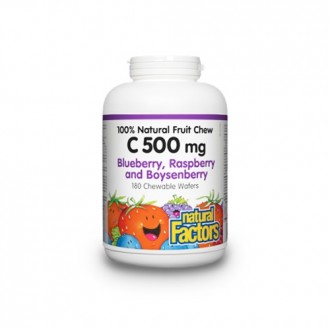Vitamina C500 500 mg 90 tablete masticabile