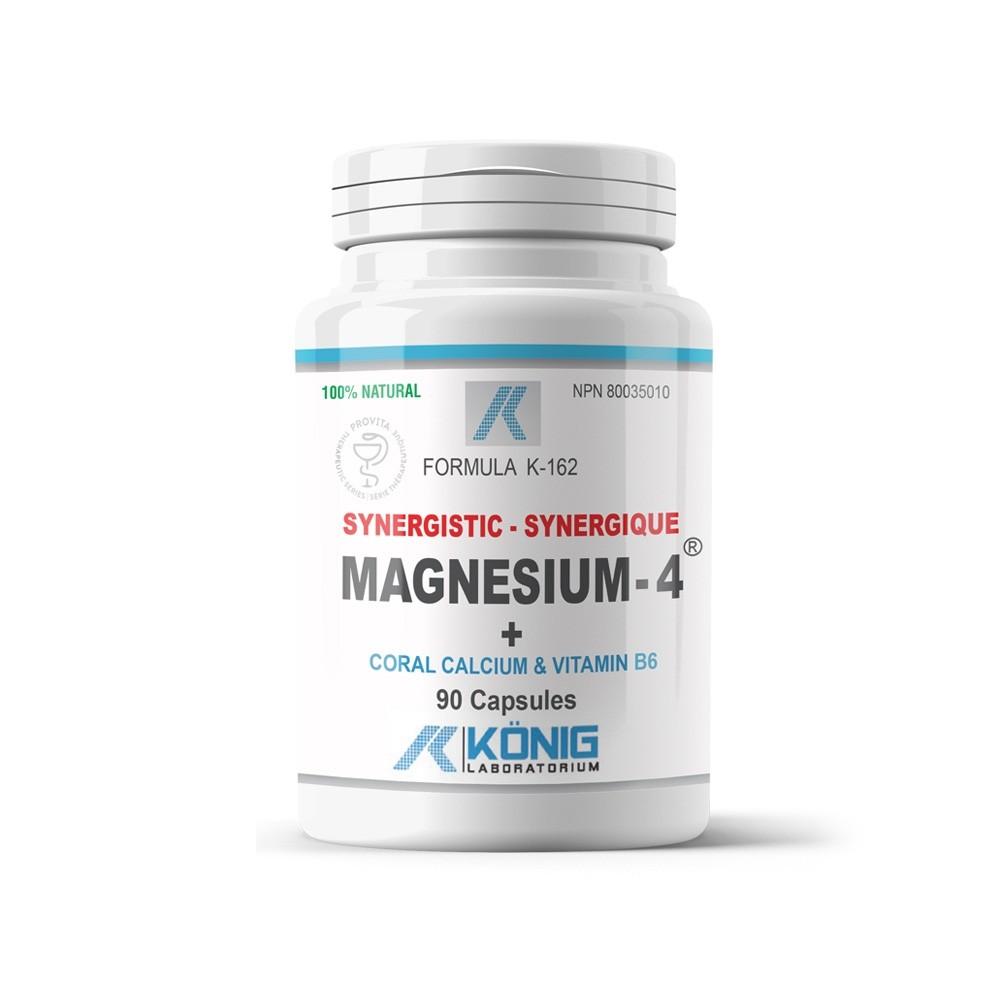 Magneziu, Calciu Coral si Vitamina B6 Konig Laboratorium 90 tablete