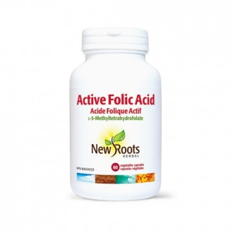 Active Folic Acid (Acid folic active) 1000 mcg (1 mg) 60 capsule vegetale