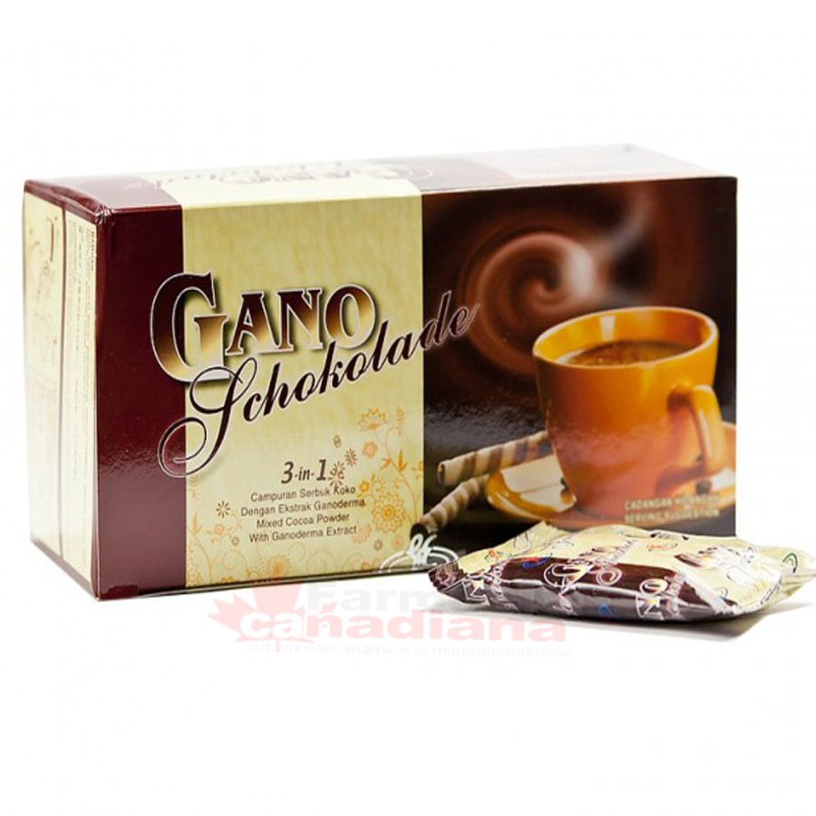 Ciocolata calda Ganoderma 20 plicuri