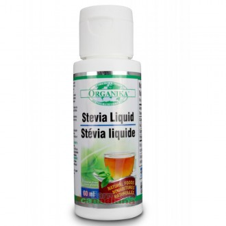 Stevia Indulcitor Natural Organika 60 ml