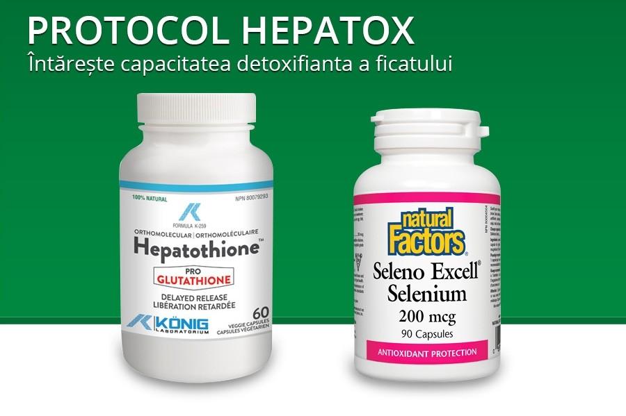 Protocol Hepatox – procedura detoxifiere hepatica