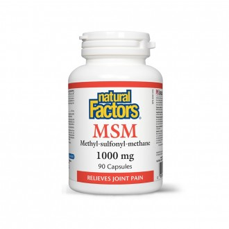 MSM Natural Factors 1000 mg 90 capsule
