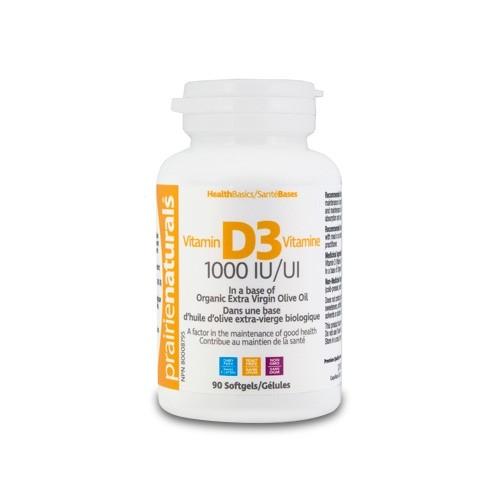 Vitamina D3 Forte 1000 UI 90 capsule moi