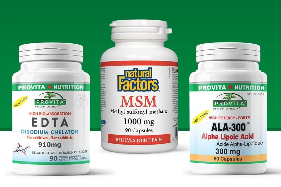 Protocol Chelatin Forte Provita Nutrition