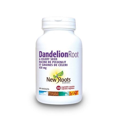 Dandelion (papadie) + seminte de telina 430 mg 100 capsule vegetale