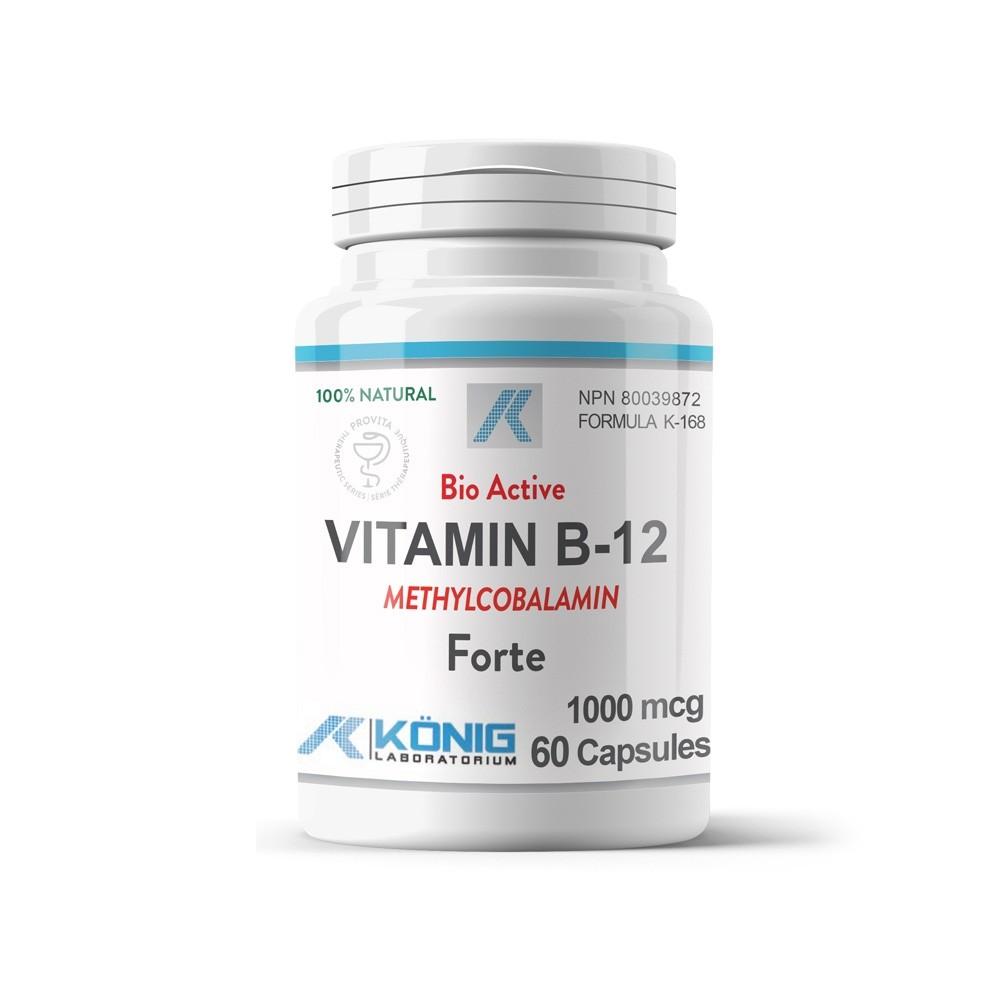 Vitamina B12 Metylcobalamina Forte 1000 mcg 60 capsule