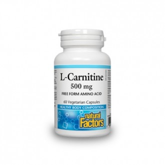 L-Carnitine 500 mg 60 capsule vegetale
