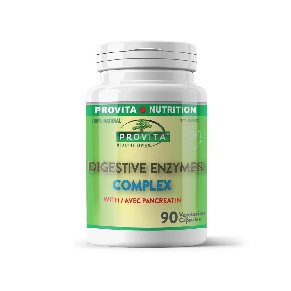 Enzime Digestive 90 capsule