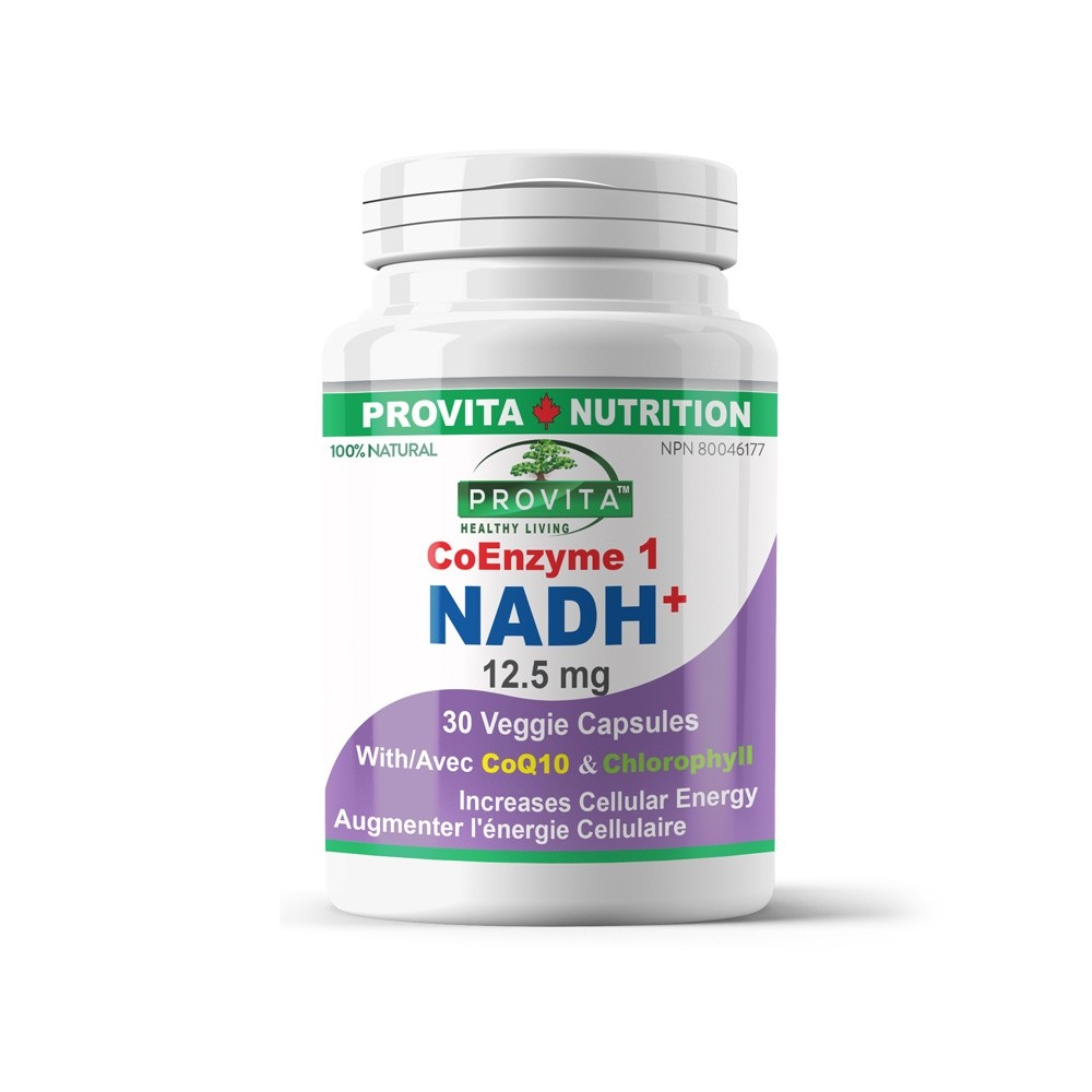 NADH Provita Nutrition 12,5 mg 30 capsule