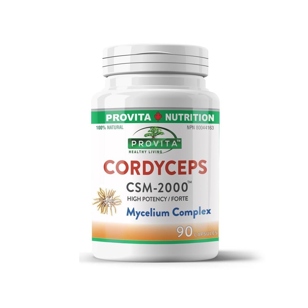 Cordyceps CSM 2000 Forte 90 capsule Provita Nutrition