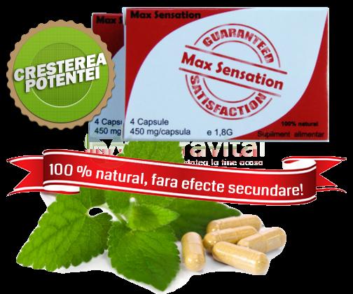 Max Sensation 450 mg 4 capsule