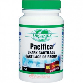 Pacifica Shark Cartilage (Cartilaj de Rechin) Organika 750 mg 90 capsule