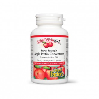 Apple Pectin – Pectina concentrata din mar 500 mg 90 capsule vegetariene