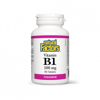 Vitamina B1 – TIAMINĂ – 100 mg 90 tablete
