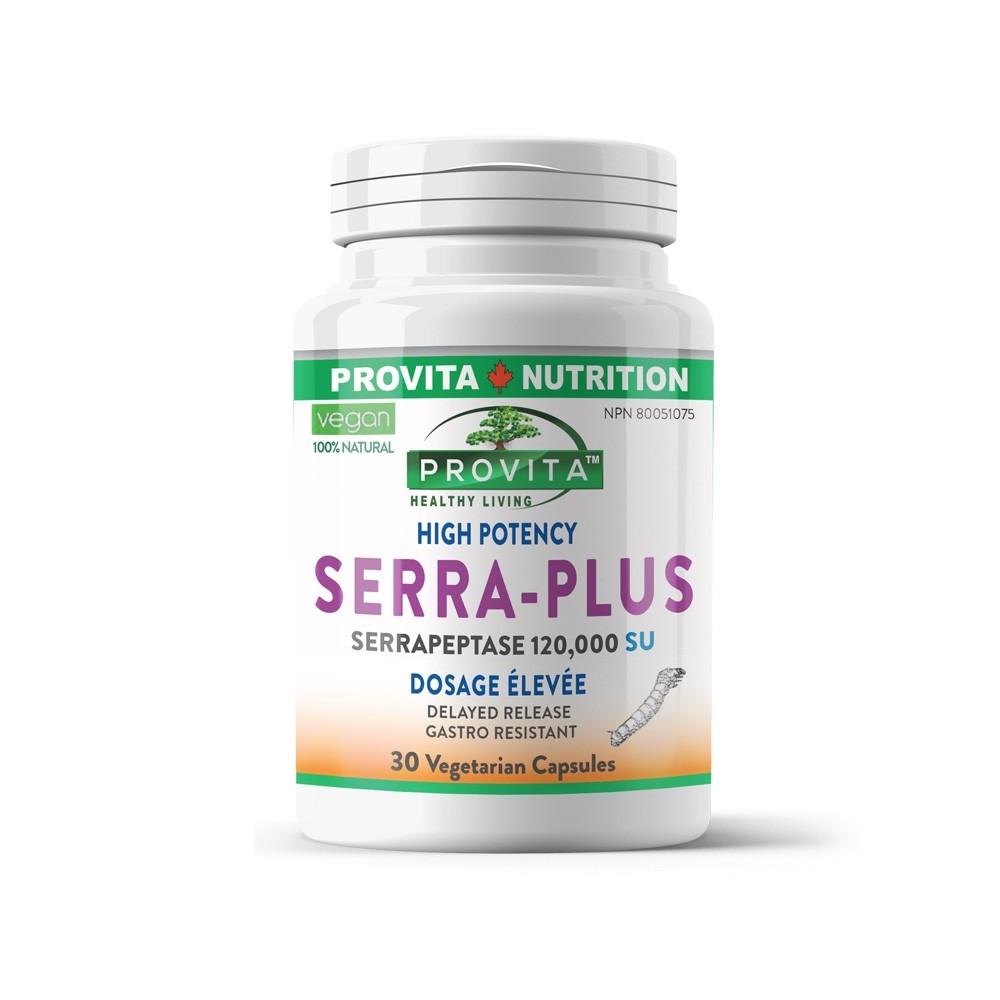 Serra Plus - Serrapeptaza 120.000 UI 30 capsule