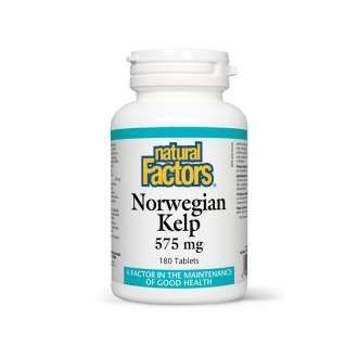 Kelp Norvegian 575 mg 180 tablete