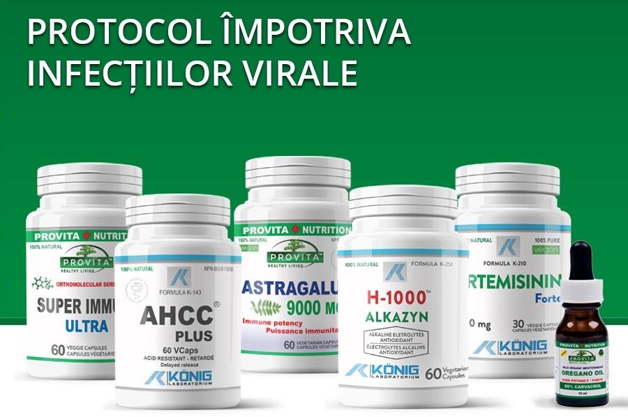 Protocol impotriva infectiilor virale
